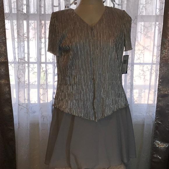 Vintage Silver Dresses
